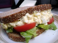 Recipe: Deviled Egg Salad Sandwich (Hunger Challenge 2011) | Poor Girl Eats Well — How to eat ridiculously well on a minuscule budget.