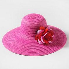 Pretty Pink Belle Floppy Hat