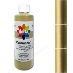02604 Ceramcoat Metallıc 14K Gold 14 Ayar Altın 2oz. / 59ml.
