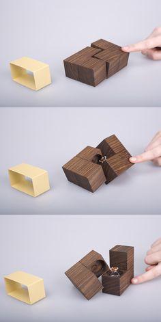 Jewellery packaging KLOTZ by Gerlinde Gruber