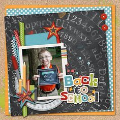 Back To School - Scrapbook.com