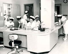 "From the ""nerve center"" of the St. Luke's intensive care unit, in Duluth MN, all 16 patients in the section can be seen in January 1962. (News Tribune file photo)  August 