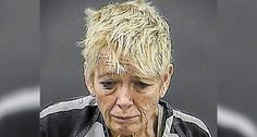 Witnesses saw when Cynthia V. Anderson entered a bathroom with a puppy but left without the dog. The puppy was found dead inside a toilet bowl.