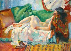 Henri Manguin 1874 - 1949 / Dormeuse