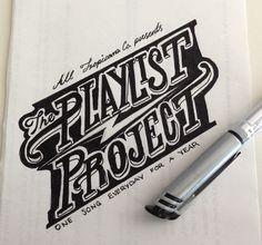 """""""The Playlist Project"""": ilustrando uma canção diariamente"""