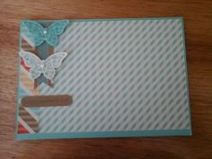 Mother's Day Card using Stampin' Up Products! Stampin Up, Card Making, Day, Cards, Products, Maps, Playing Cards, Beauty Products, Cardmaking