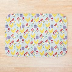 Cotton Tote Bags, Plastic Cutting Board, Bath Mat, Art Prints, Printed, Breakfast, Awesome, Artist, Painting