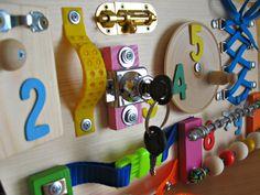 Board für Kleinkind, sensorische Kinder Spiel, Aktivitätsspielzeug…