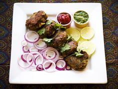 Lamb Kabab Recipe (Shammi Kabab): The mixture is elevated with warmth of spices like cinnamon, cardamom and cloves, stuffed with onion and coriander, rolled into thickish patties, dipped in egg and fried in ghee (clarified butter) to create a meal that is exquisite, both on your dish and to your palette. #indian