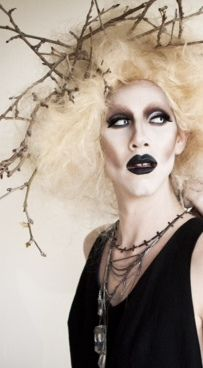 """""""Being booed off stage is just an applause from ghosts!""""  Sharon Needles"""