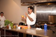 Chef Aaron Sanchez on Chopped