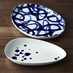 Como Platters | Crate and Barrel