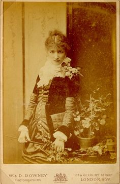 Sarah Bernhardt, who's name my parents invoked a great deal when I was young and well, dramatic. She's my spirit animal.