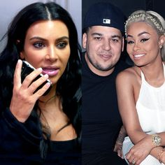 How Kim Kardashian Helped Keep the Peace for Rob Kardashian & Blac Chyna Before the Birth of Their Baby Girl   E! News