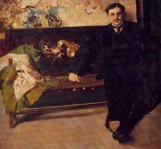 Obra ampliada: Retrato de J. C. M. - Carlos Federico Sáez
