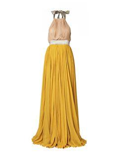 Malene Birger Marygold Silk Dress #dress #malene_birger
