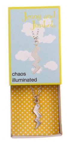Chaos Illuminated lightning necklace