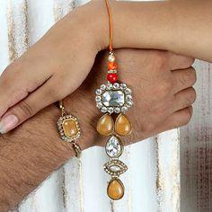 Send Rakhi to USA – Choose Lumba Rakhi and Rakhi... - Gift Ideas for Indian Festival