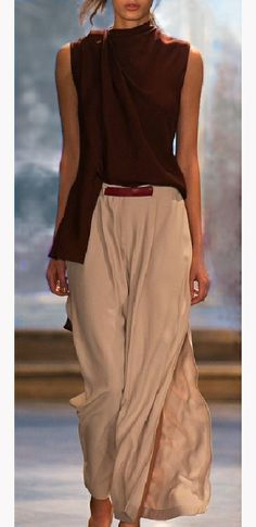 Caroline Kummelstedt s/s 2014 - blouse draping perfection