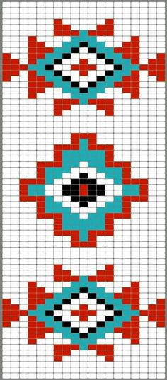 Indians cross stitch.