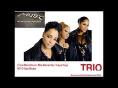 Listen to the interview from TRIo on The Midnight Hour Radio Show. That's Toni Menage, Ria Alexander and Inaya Day.