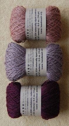 yarn, cashmere habu - purl