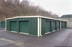 Mini Storage Buildings Plans | Steel Buildings for Mini Warehouse Self-Storage.....like this color