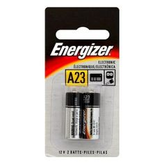 Amazon.com: Energizer A23 Battery, 12 Volt - 2 Pack: Health & Personal Care