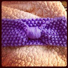 Free knit baby headband pattern... on my blog :)