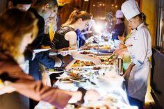Seerose Resort & Spa mit Dessertbuffet als Höhepunkt des Abends im Elements Wintergarten und Seesicht.