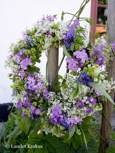 midsummer wreath @Landet Krokus