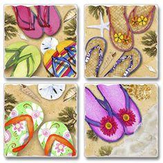 9d341e78b201e2 Flop Flip Tumbled Stone Coasters Mille Pattes