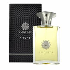 Apa de parfum pentru barbati Amouage Silver - 100 ml. Silver de Amouage este un parfum lansat in 2002.  Categorie olfactiva: Lemnos - Floral - Mosc  Note de varf: floare de portocal, prune, mandarina, bergamot; Note de mijloc: orhidee, iasomie, heliotrop, ylang-ylang, trandafir; Note de baza: lemn de santal, ambra, mosc, paciuli, vetiver, tamaie. Musk Perfume, Perfume And Cologne, Perfume Bottles, Best Perfume For Men, Popular Perfumes, Perfume Collection, Silver Man, Pure Products, Sheet Music