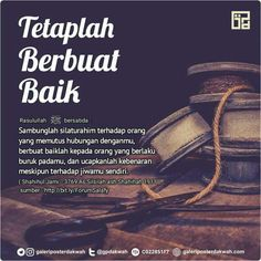 Tetaplah berbuat baik... Islamic Quotes, Quran Quotes Inspirational, Islamic Teachings, Muslim Quotes, Reminder Quotes, Self Reminder, Allah Quotes, Prayer Quotes, Quotes And Notes