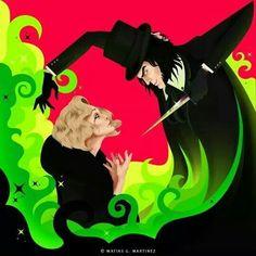 AHs Freak show - Elsa and Edward