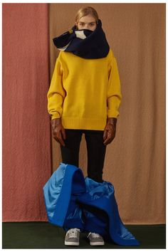 Fall/Winter 2016 capsule collecion lookook #ader #adererror #FW16 #collection #lookbook #design #fashion #styling #space #spaceship #camel #color Fall Winter 2016, Creative Director, Knitwear, Stylists, Graphic Sweatshirt, Lifestyle, Clothes For Women, My Style, Sweatshirts