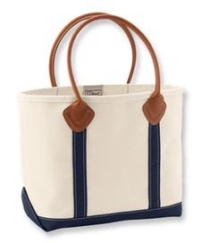 Leather Handle Boat and Tote II: Tote Bags | Free Shipping at L.L.Bean