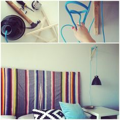 groundswell:: DIY: hanging bedside lamp