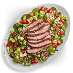 Avocado Salad Center I Avocados From Mexico Avocado Tomato Salad, Avocado Salad Recipes, Avocados From Mexico, Homemade Honey Mustard, Party Food Platters, Winter Dishes, Skirt Steak, Salad Ingredients