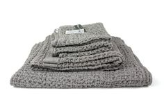 Lattice Towel, Grey – rikumo