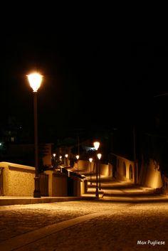 I lampioni del castello di Roccella Jonica