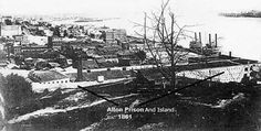 The worst prison camp during the Civil War in terms of percentages of death was at Rock Island.