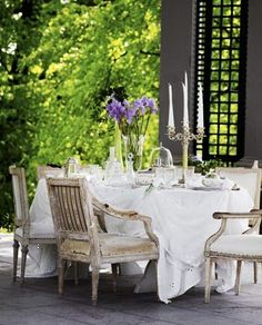 Lunch on the terrasse.....