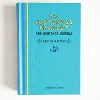 The Happiness Project One-Sentence Journal at ShopRuche.com