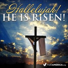 He Is Risen! - Feeding the Multitudes - Hallelujah! He Is Risen! easter religion easter quotes jesus quotes religious easter quotes happy e - Resurrection Quotes, Happy Resurrection Sunday, Lobe Den Herrn, Ostern Wallpaper, Christ Is Risen, Easter Wishes, Easter Card, Easter Messages, Easter Subday