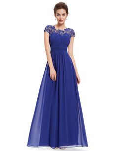 Ever-Pretty is the place to find hundreds of beautiful gowns and affordable dresses in unique and fashion-forward styles. We are known for our beautiful bridesmaid dresses, evening dresses, cocktail dresses. Off Shoulder Evening Gown, Evening Dress Long, Evening Party Gowns, Chiffon Dress Long, Chiffon Evening Dresses, Lace Chiffon, Dress Lace, Tulle Lace, Dress Up