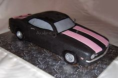 This isn't so much yummy looking as it is inspirational.  My husband would LOVE a Camaro cake for Father's Day.   This is by user arosstx on CakeCentral.com and is a 1969 Chevy Camaro.