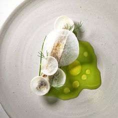We're looking for food writers! Email us at info@theartofplating.com Spanish mackerel, radish, and dill by @bryceshuman #TheArtOfPlating