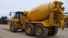 Converted Bell Articulating Dump Truck/Haul Truck to Articulating Concrete Mixer. Can be switched from dump truck to mixer in about 4 hours.