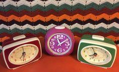 Vintage wekker Retro wekker Vintage alarmclocks